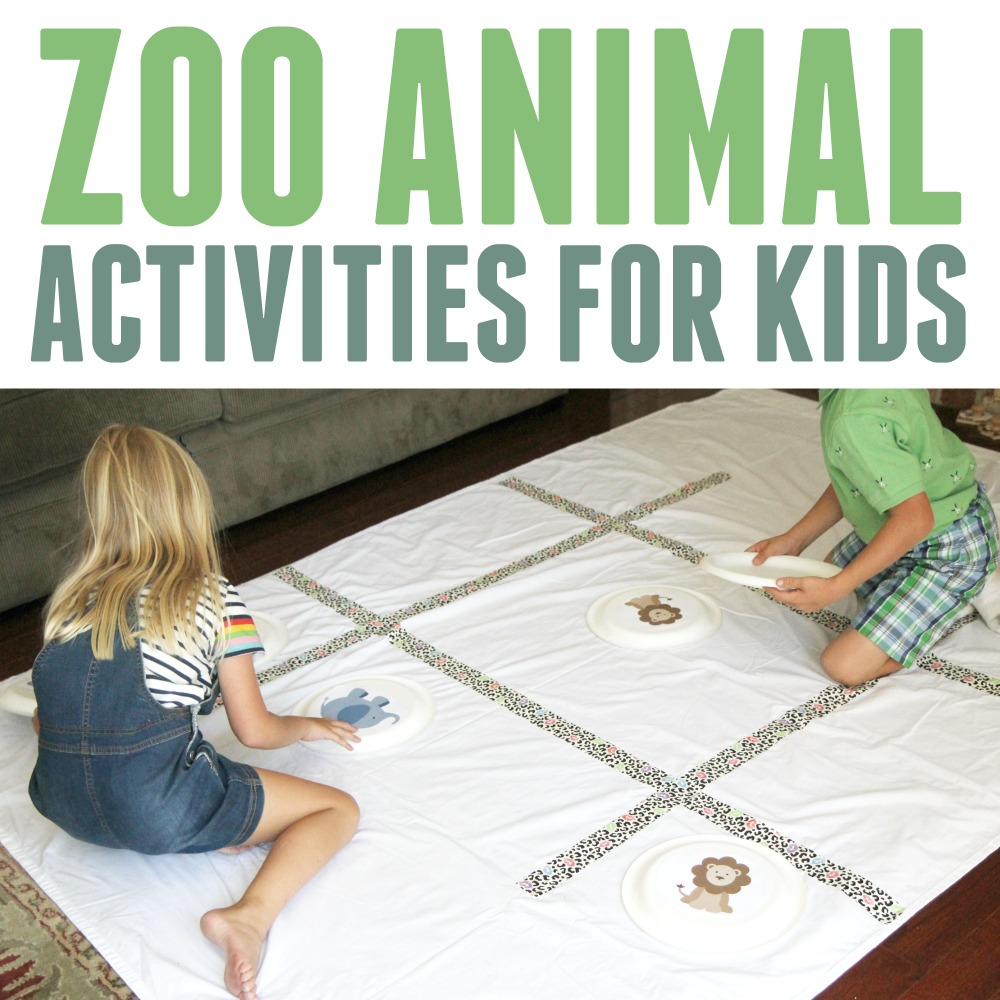 Toddler Approved Zoo Animal Activities For Toddlers And Preschoolers