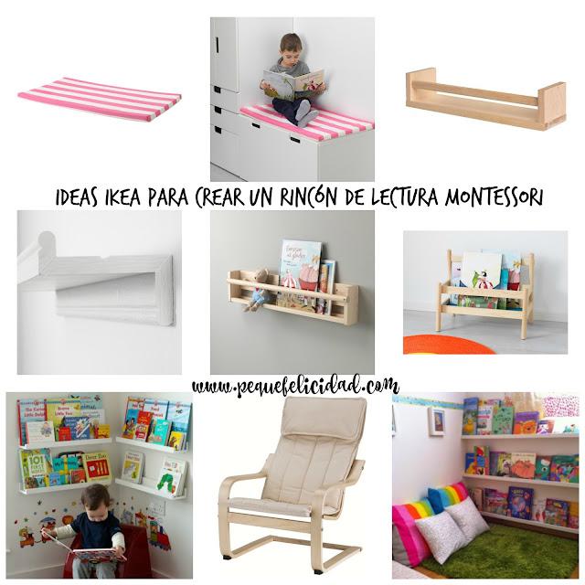 Pequefelicidad ideas ikea para crear un rinc n de lectura montessori - Ikea estanterias ninos ...