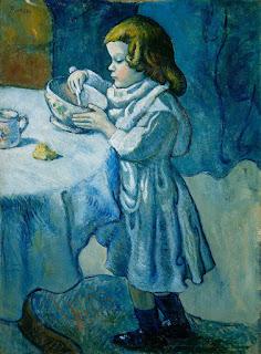 Niña comiendo de Picasso (mamoamimama)