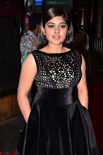Niveda Thomas Black Sleeveless Cute Dress at 64th Jio Filmfare Awards South 2017 ~  Exclusive 028.JPG