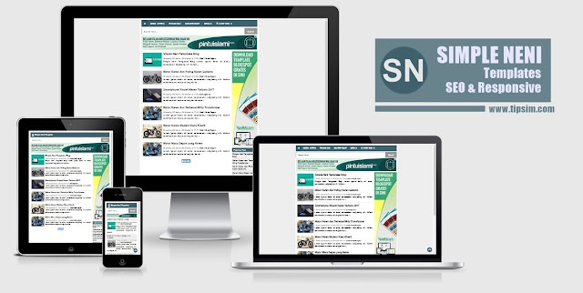 Simple Neni SEO Responsive Blogger Template