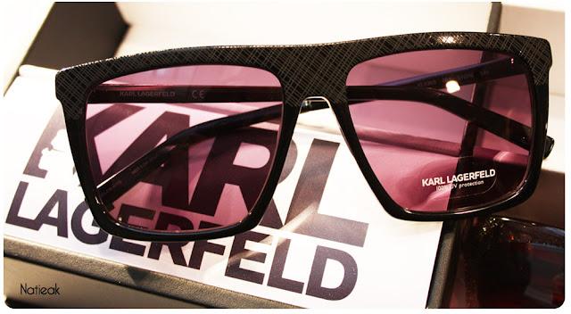 Modèle solaire Saffino de Karl Lagerfeld