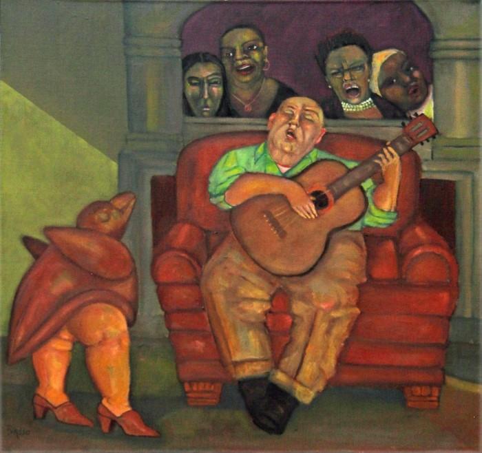Американский художник. Stephen Basso 3
