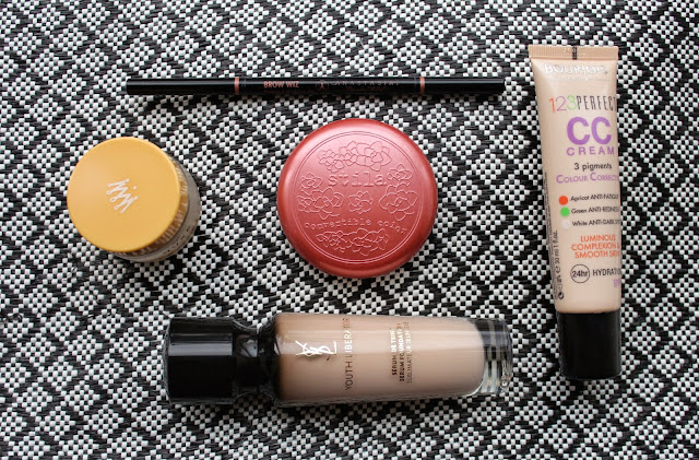 beauty bloggers blogger bblogger bloggers make up skin care still bourgeois ysl nuxe reve de miel anastasia brow wiz blush cream foundation eyebrows pink serum youth liberator cc cream creme