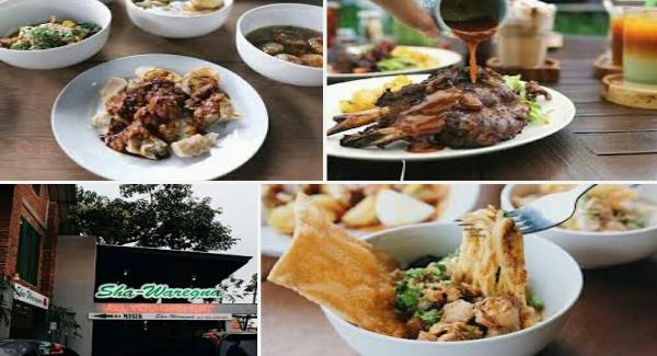 Waregna ini merupakan salah satu restoran atau daerah makan dengan sistem all you can eat  Wisata Kuliner Sha-Waregna Bandung