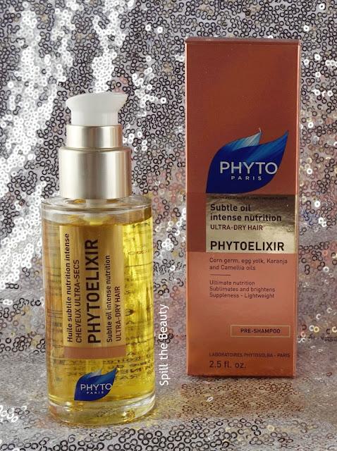 PHYTOELIXIR Intense Nutrition Subtle Oil Pre-Shampoo & Intense Nutrition Shampoo - Review