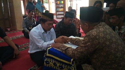 Haru, Tahanan Kasus Narkoba Menikah di Polres Jombang