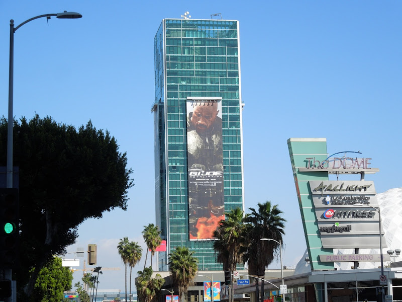 Giant GI Joe 2 Retaliation movie billboard