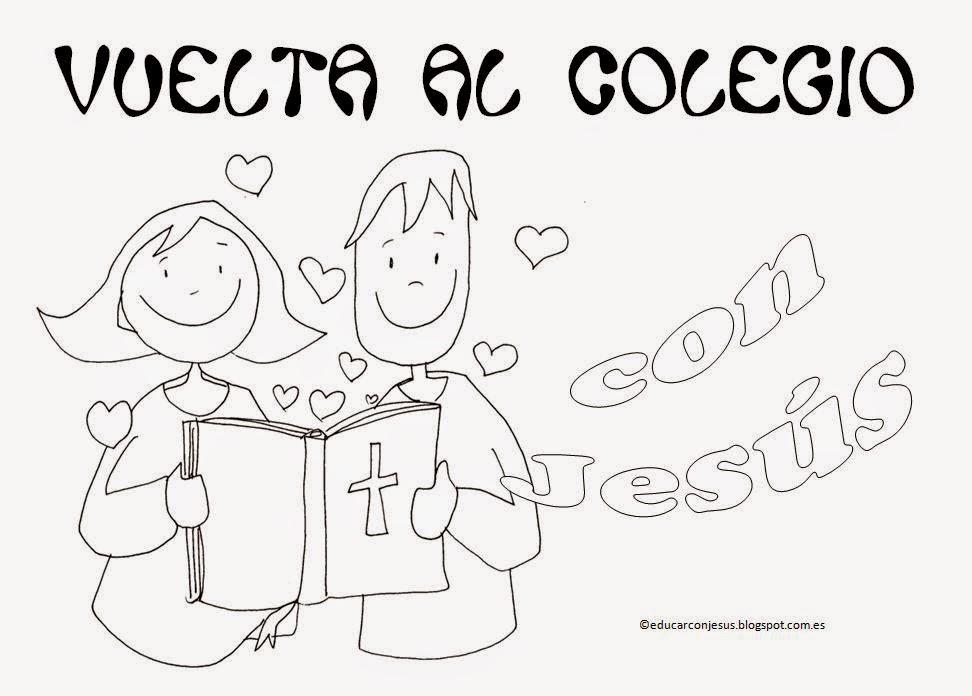 Dibujos Para Colorear De Niños Entrando Al Colegio Ideas Creativas ...