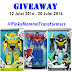 Giveaway Transformers Robots-In-Disguise Hyperchange Hero