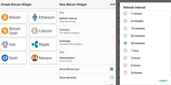 Simple Bitcoin Wallet