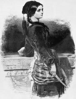 Anonyme - Mélanie Waldor - [Années 1820 ?] - Collection de la Société des amis d'Alexandre Dumas.