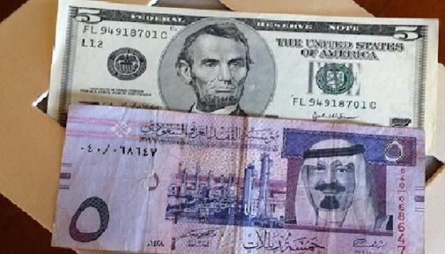 هبوط حاد لسعر الريال السعودي مقابل الدولار بعد ساعات من تصويت الكونجرس