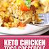 Keto Chicken Taco Casserole #keto #lowcarb