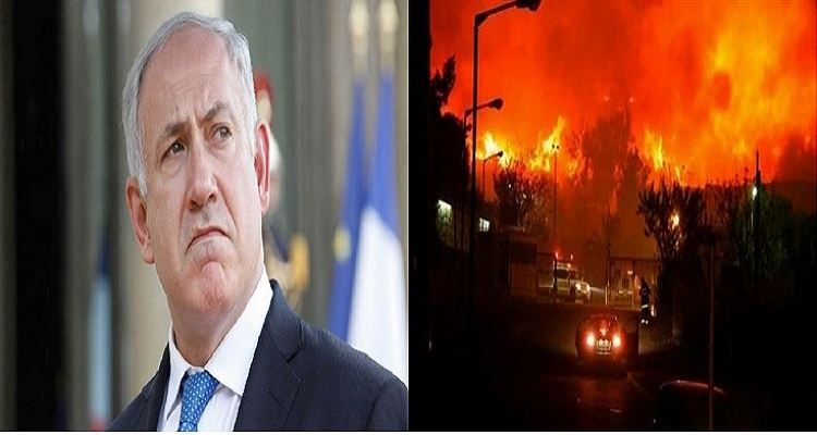 كلام لا يصدق الآن من نتنياهو بعد عرض مصر و السعودية و الأردن إطفاء حرائق إسرائيل
