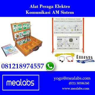 Alat Peraga Elektro AM Sistem