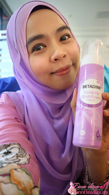 BETADINE DAILY FEMININE WASH TURNS PINK IN OCTOBER