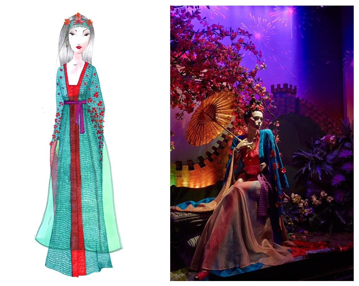 f547d451d050 Jasmine di Aladdin è stata disegnata da Escada