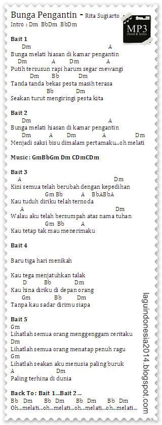 Chord Guitar Bunga Pengantin Rita Sugiarto - Pesta Chord, Lirik Dan Chord Lagu Don T Cry Guns N Roses Zonakamu