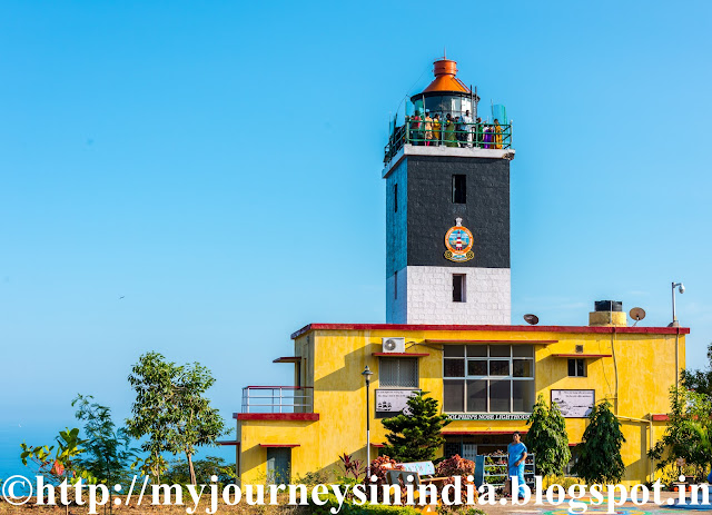 Dolphin Nose Lighthouse Vishakapatnam