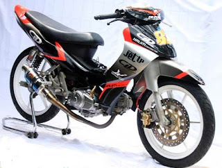 modifikasi new jupiter mx ala moto gp