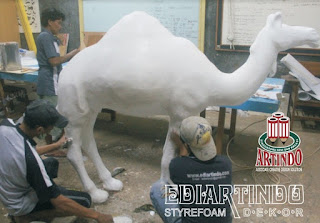 jasa Pembuatan Patung 3D Hewan Unta
