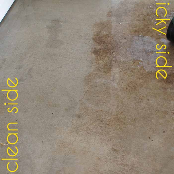 patio cleaning recipe
