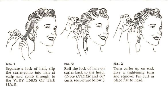 Sailors And Sirens The Vintage Pin Curl Set