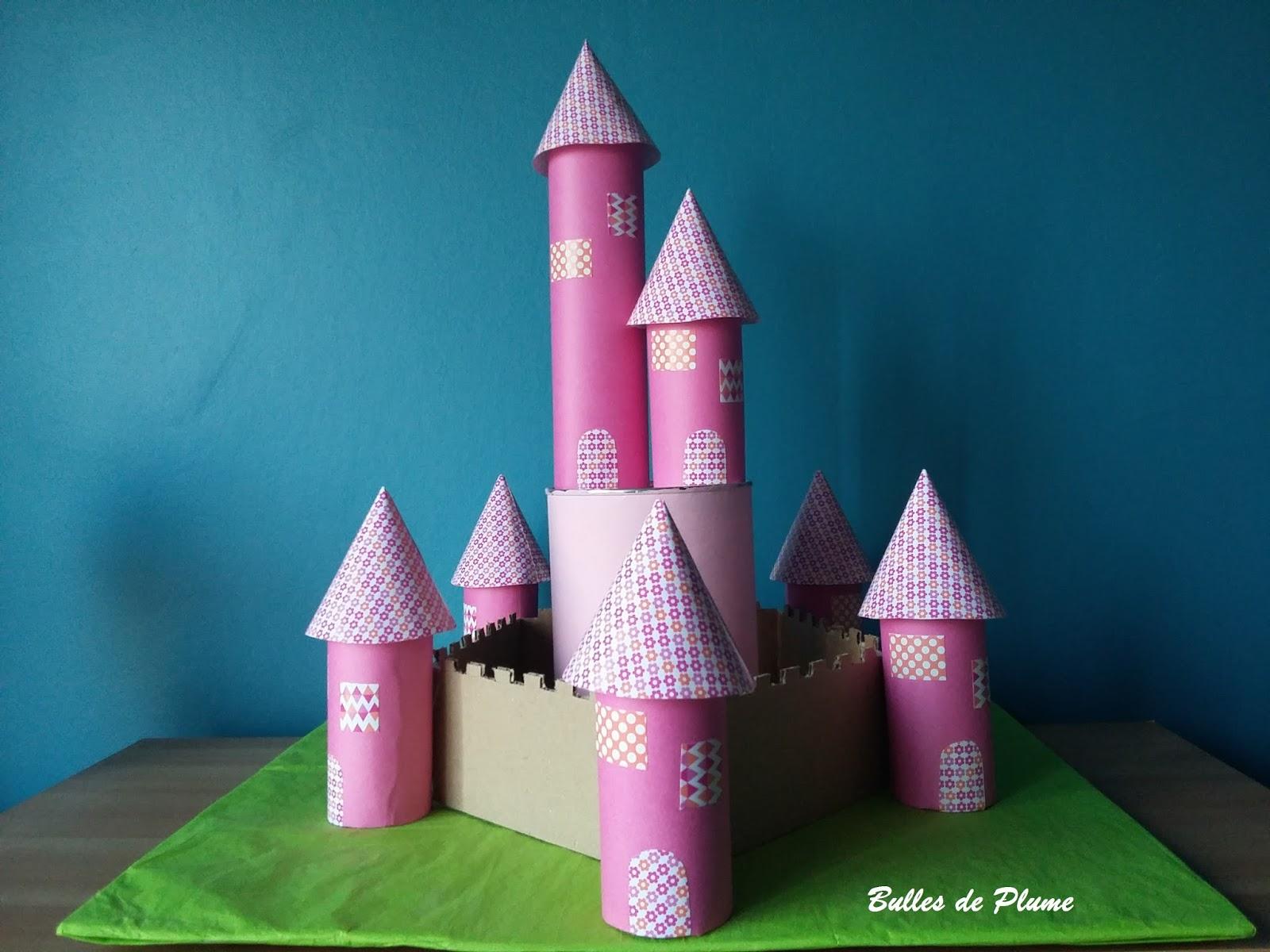 bulles de plume diy ch teau de princesse en carton. Black Bedroom Furniture Sets. Home Design Ideas