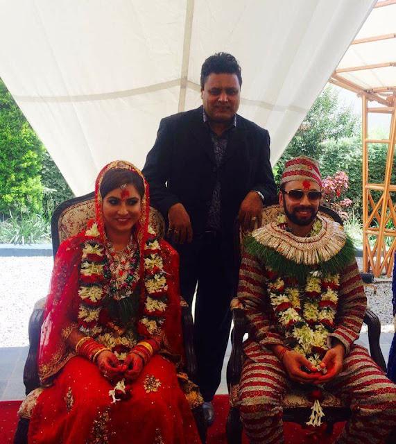 Nisha Adhikari marries Sharad Vesawkar