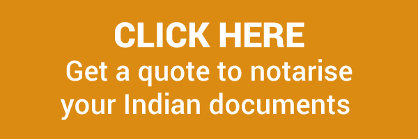 Get quote to notarise Indian documents