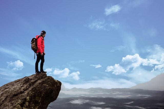 Filosofi Mendaki Gunung - Sampai Puncak Sangat Lega