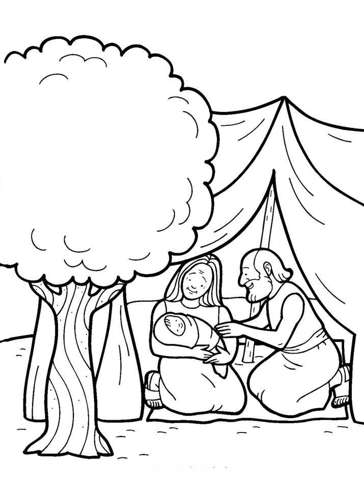 Colorear Dibujos de la Biblia ~ Dibujos Cristianos Para