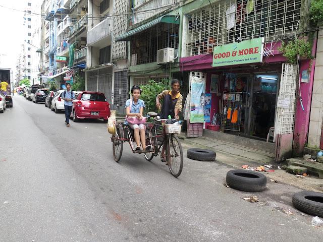 Calle de Yangon