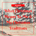 What Christmas Means To Me & My Christmas Traditions