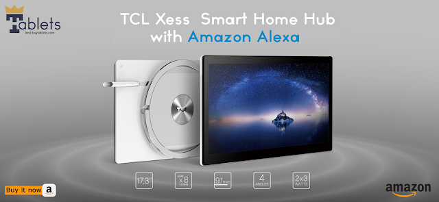 Review TCL Xess Smart Home Hub tablet
