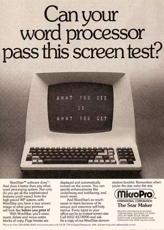 Old days' Computer Advertisements 6