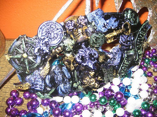 Mardi Gras Mask: Tanya Ruffin for Geaux Create It.com