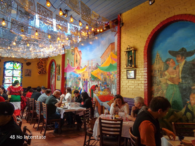 Back Roads Cross Country Road Trip travel - Mi Tierra in Historic Market Square, El Mercado - San Antonio, Texas
