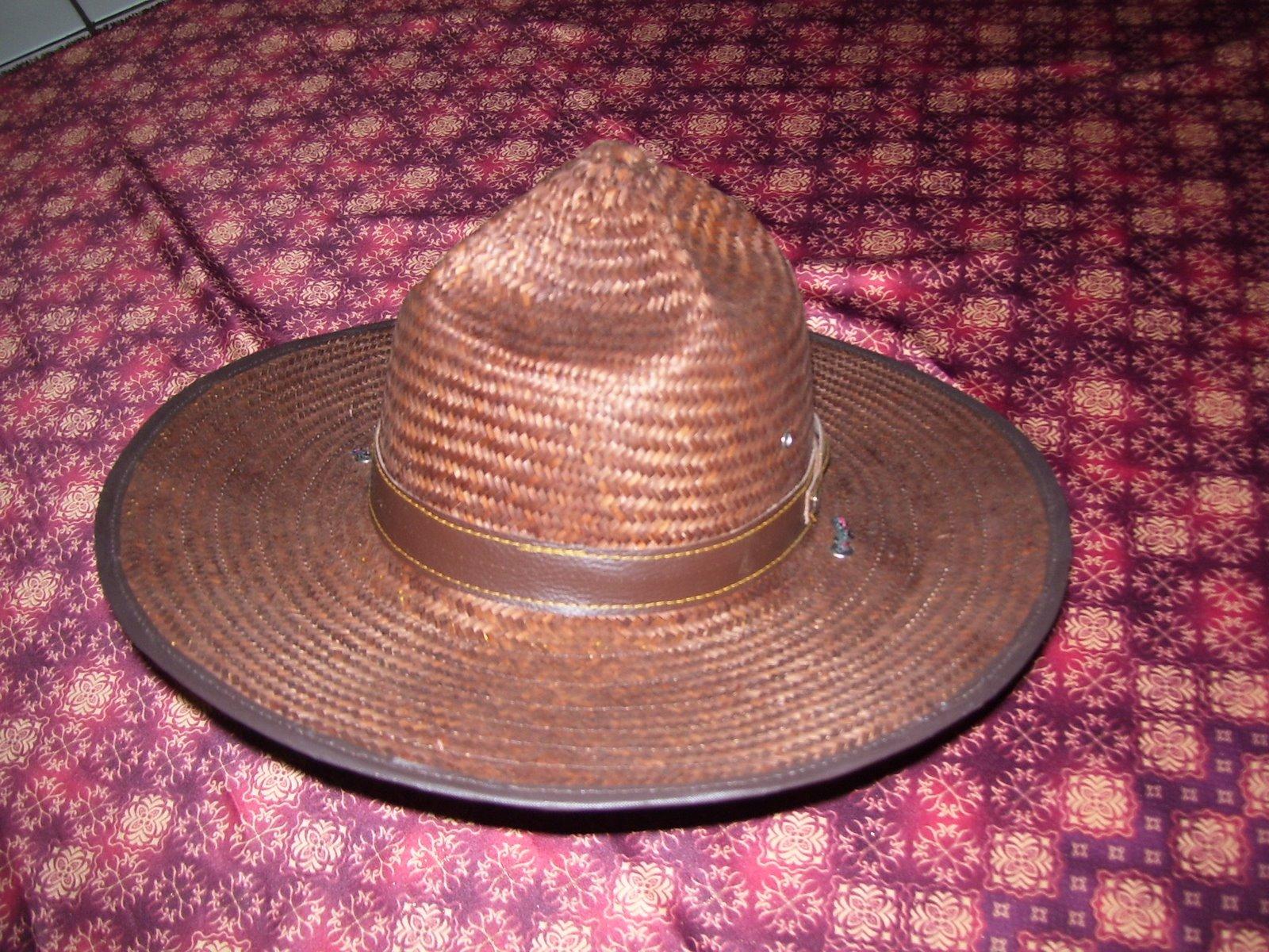 Topi Bambu Pandu - TB-P2