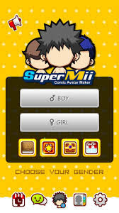 SuperMii-Make Comic Sticker Mod APK