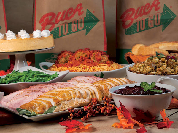 Thanksgiving Feast- Buca di Beppo Style!