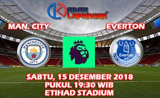 Prediksi Skor Bola Manchester City vs Everton 15 Desember 2018