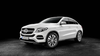 2016 New GLE63 S Coupe Mercedes Benz performance front view