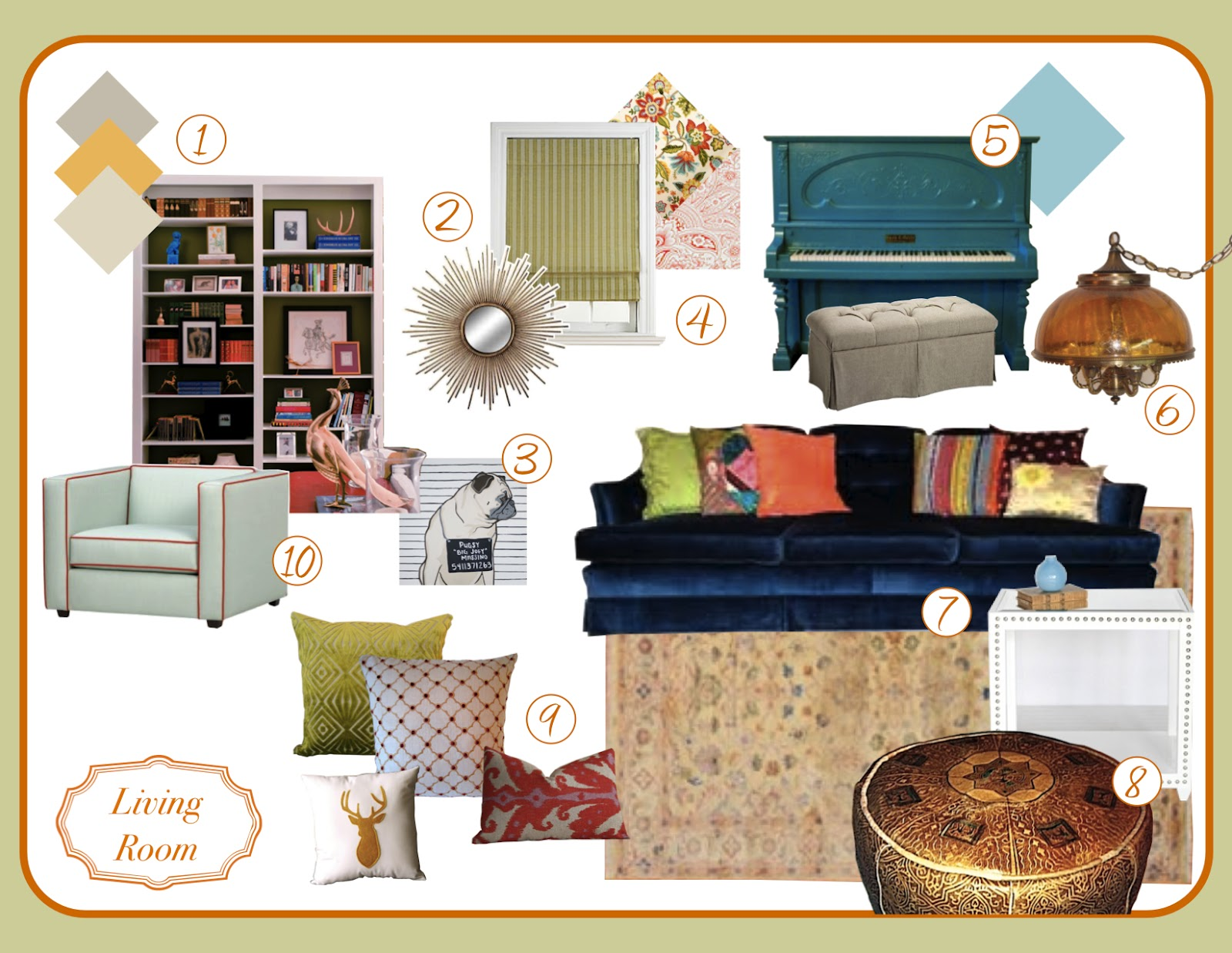 The Hevel House Project Mood Boards