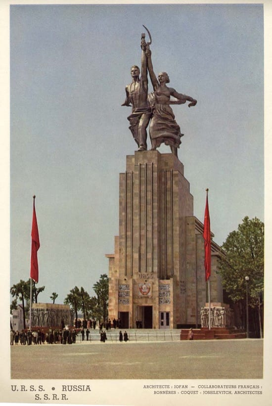 Pabellón de Alemania en Rusia en 1937