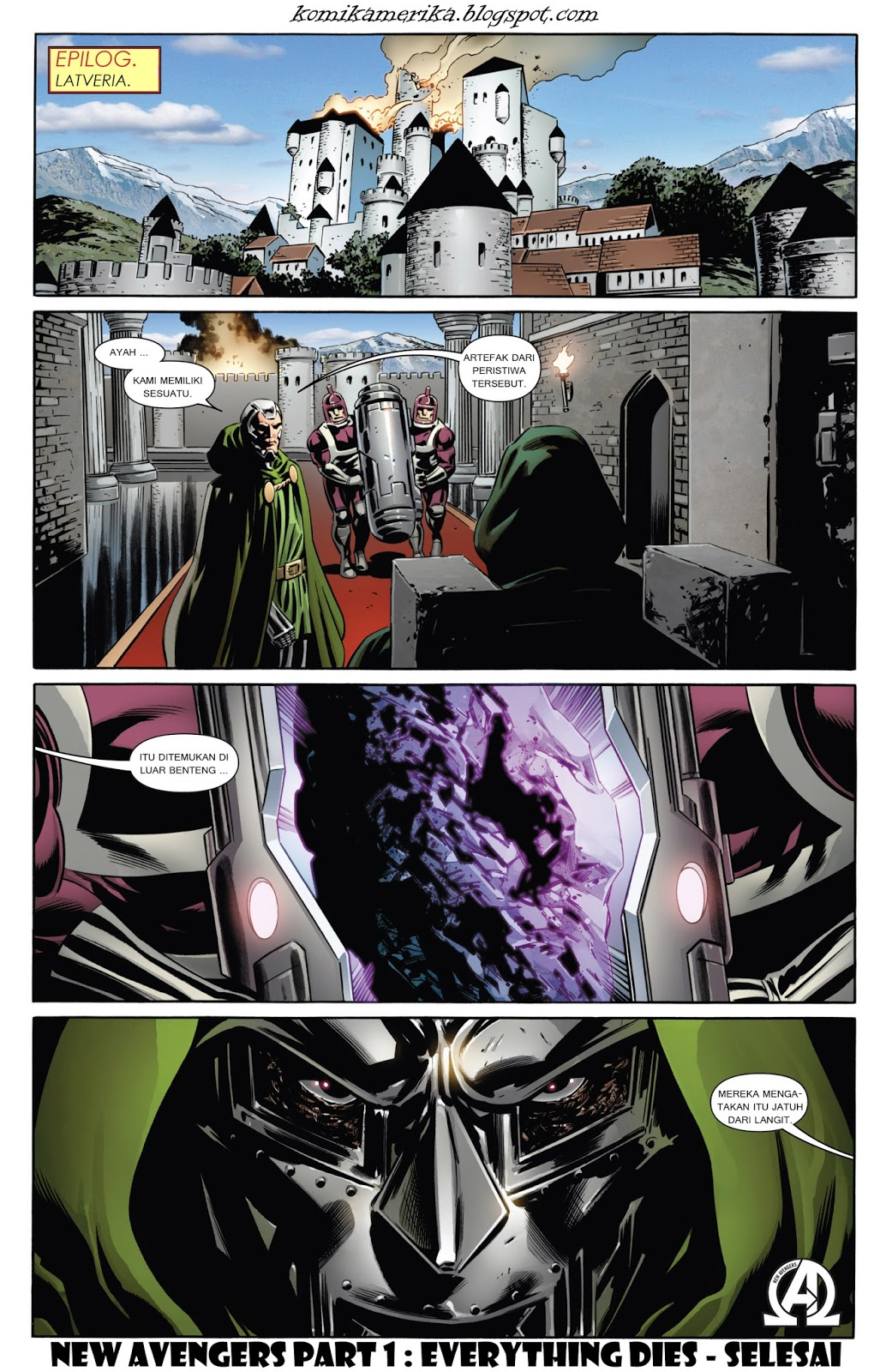 komik amerika bahasa indonesia new avengers 6