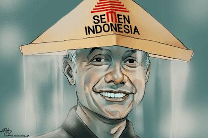 Kekonyolan Ganjar dan Izin Lingkungan Baru PT Semen Indonesia