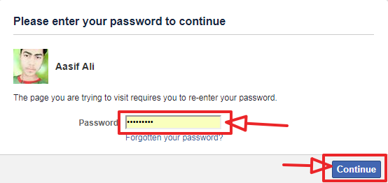 deactivate confirm password