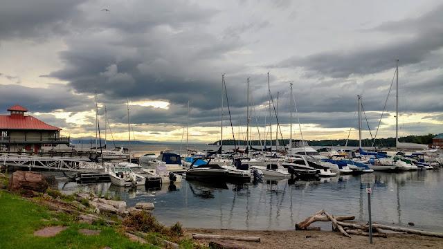 Озеро Шамплейн. Берлінгтон. Вермонт (Lake Champlain. Burlington, VT)